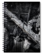Entrenched Spiral Notebook