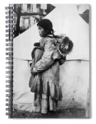 Eskimo Woman And Child Spiral Notebook