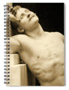 Eugen Sandow Spiral Notebook