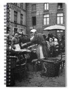 Europe Market, C1910 Spiral Notebook
