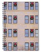 Evergreen Christmas Wreaths Spiral Notebook