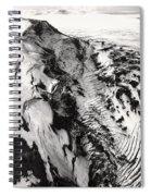 Eyjafjallajokull And The Glacier Spiral Notebook