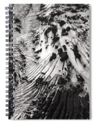 Eyjafjallajokull Glacier And Ashes  Spiral Notebook