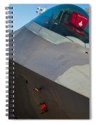 F-22 Raptor Jet Spiral Notebook