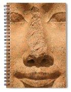 Face Of Hathor Spiral Notebook