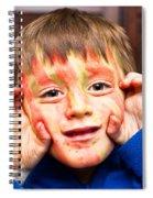 Face Paint Spiral Notebook