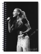 Faith Hill Spiral Notebook
