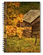 Fall At The Farm Spiral Notebook