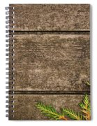 Fall Background Spiral Notebook