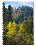 Fall In Spokane Spiral Notebook