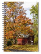 Fall View Spiral Notebook