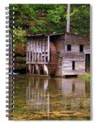Falling Spring Mill  Spiral Notebook