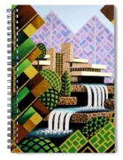 Falling Waters Spiral Notebook
