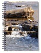 Falls Park Waterfall Spiral Notebook