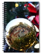 Faneuil Hall Christmas Tree Ornament Spiral Notebook