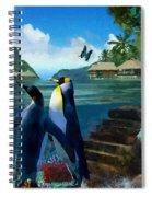 Fantasy Island Spiral Notebook