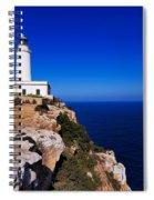 Far De La Mola On Formentera Spiral Notebook