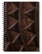 Farm Equipment Abstracts Spiral Notebook