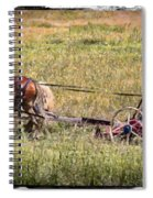 Farming With Horses Spiral Notebook