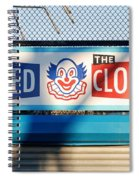 Feed The Clown Spiral Notebook