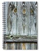 Fence Detail Spiral Notebook