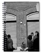 Fenway Park - Fans And Locked Gate Spiral Notebook