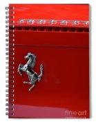 Ferrari Horse Spiral Notebook