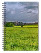 Fields Of Rapeseed In Lower Silesia Spiral Notebook
