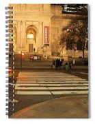Fifth Avenue Spiral Notebook