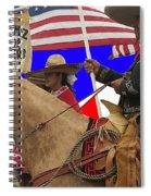 Film Homage Ride Vaquero 1953 1 Hispanic Riders Rodeo Parade Tucson Az 2002-2008 Spiral Notebook