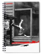 Film Noir Charles Bronson Death Wish 1974 Stunt Man Old Tucson Arizona 1968 Color Added 2012 Spiral Notebook