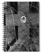 Film Noir Dana Andrews Linda Darnell Fallen Angel 1945 Child's Grave Ghost Town Golden Nm 1972 Spiral Notebook