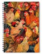 Fine Fowl Spiral Notebook