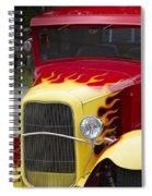 Fire Away Spiral Notebook