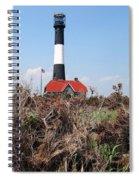 Fire Island Lighthouse Spiral Notebook