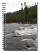 Firehole River Spiral Notebook