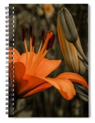 First To Bloom Spiral Notebook