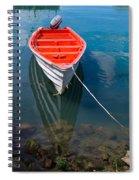 Fisherman's Boat Spiral Notebook