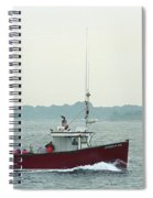 Fishing Boat - Portland Maine Spiral Notebook