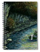 Fishing Buddies Spiral Notebook