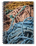 Fishing Ropes Spiral Notebook
