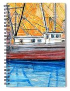 Fishing Trawler Spiral Notebook