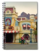 Five And Dime Disneyland Toontown Signage Spiral Notebook