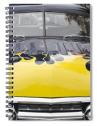 Flaming Ford Spiral Notebook