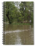 Flooded Park Spiral Notebook