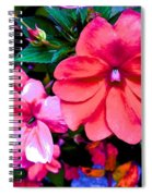 Floral Beauty Spiral Notebook