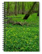 Floral Forest Floor Spiral Notebook