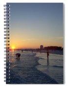 Florida Sunset Spiral Notebook