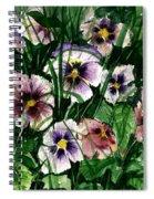 Flower Study I Spiral Notebook