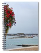 Flowers Along The Seafront Spiral Notebook